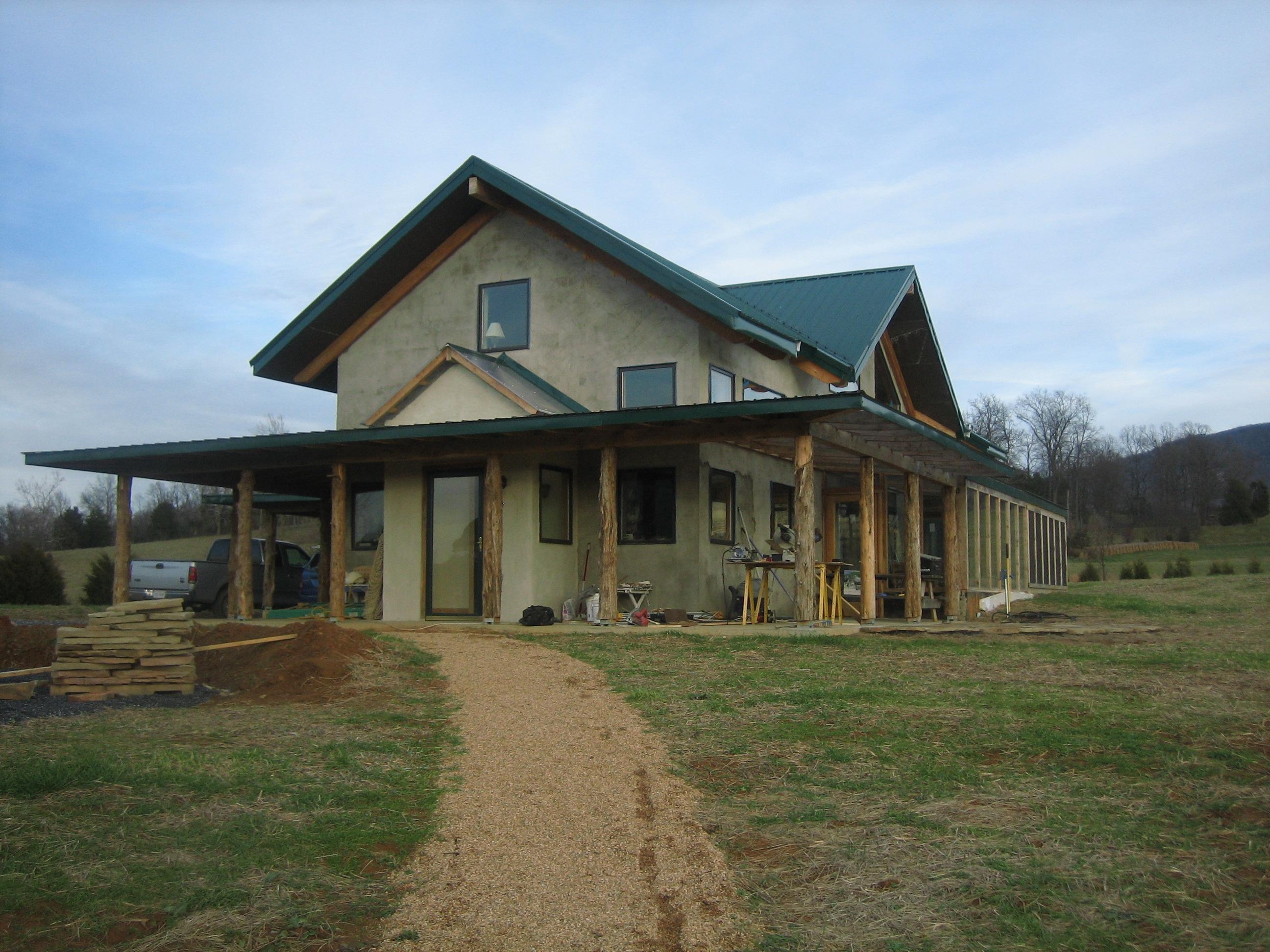 Virginia Faswall Farm home