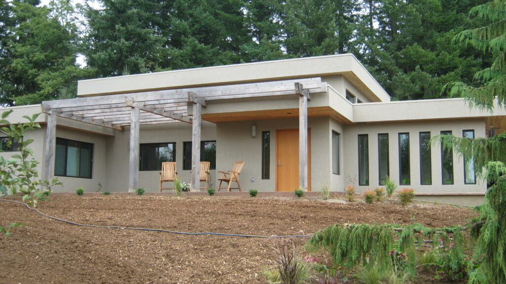 Modern Style Faswall home